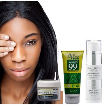 Soin visage naturel pour peau noire